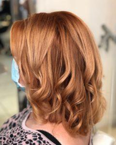 Hertford Hair Salon Copper Hair Colours